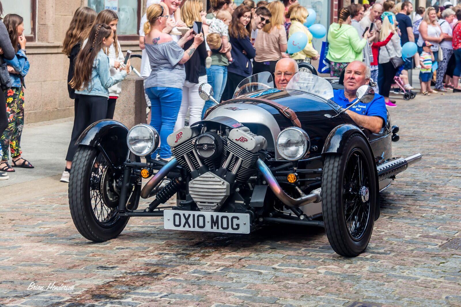"""1929 Morgan Aero """"three wheeler"""" vintage car"""