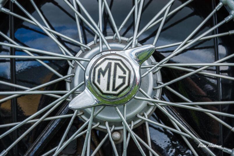 MG Wheel Cap