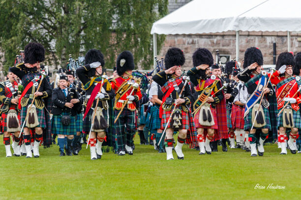 Pipe Band Salute