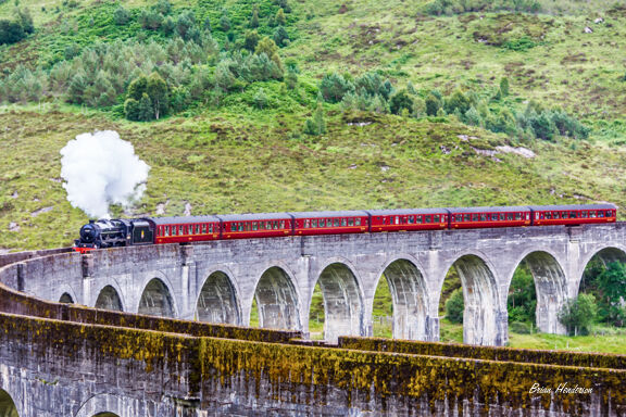 Steam Train at Glenfinnan