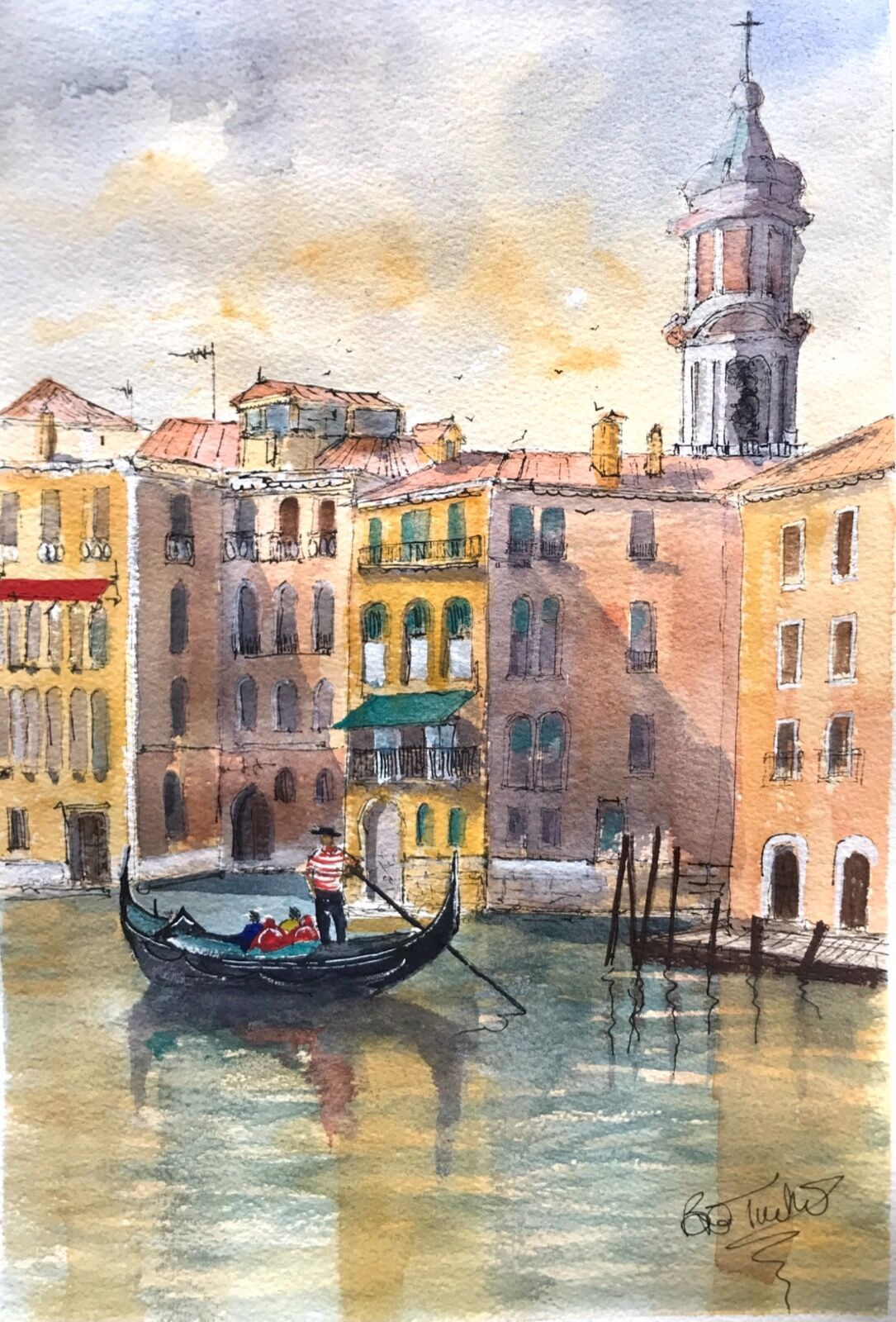A Quiet Afternoon in Venice