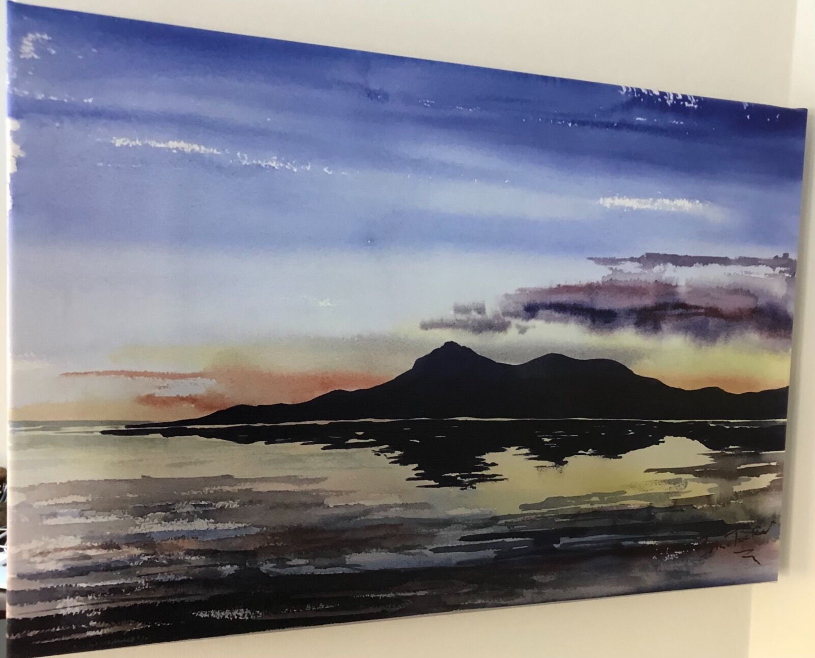 Evening at the Mournes (Canvas style prints)