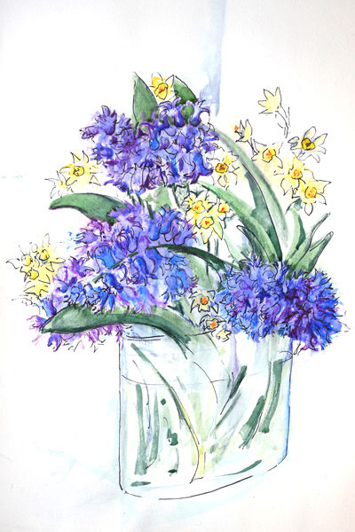 Hyacinths and Narcissi