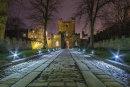 Durham at twilight