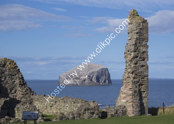 Bass Rock from Tantallon Castle