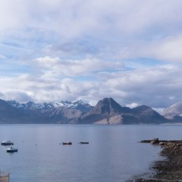View to Cuillin Ridge from Elgol
