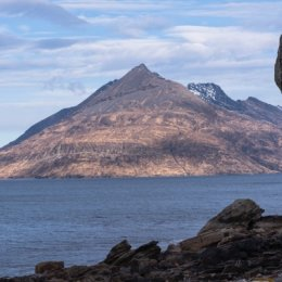 "The ""Big Hill"" from Elgol"