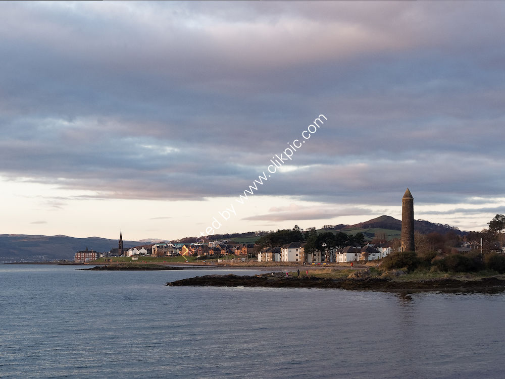 """The """"Pencil"""" Monument, Largs, Ayrshire"""