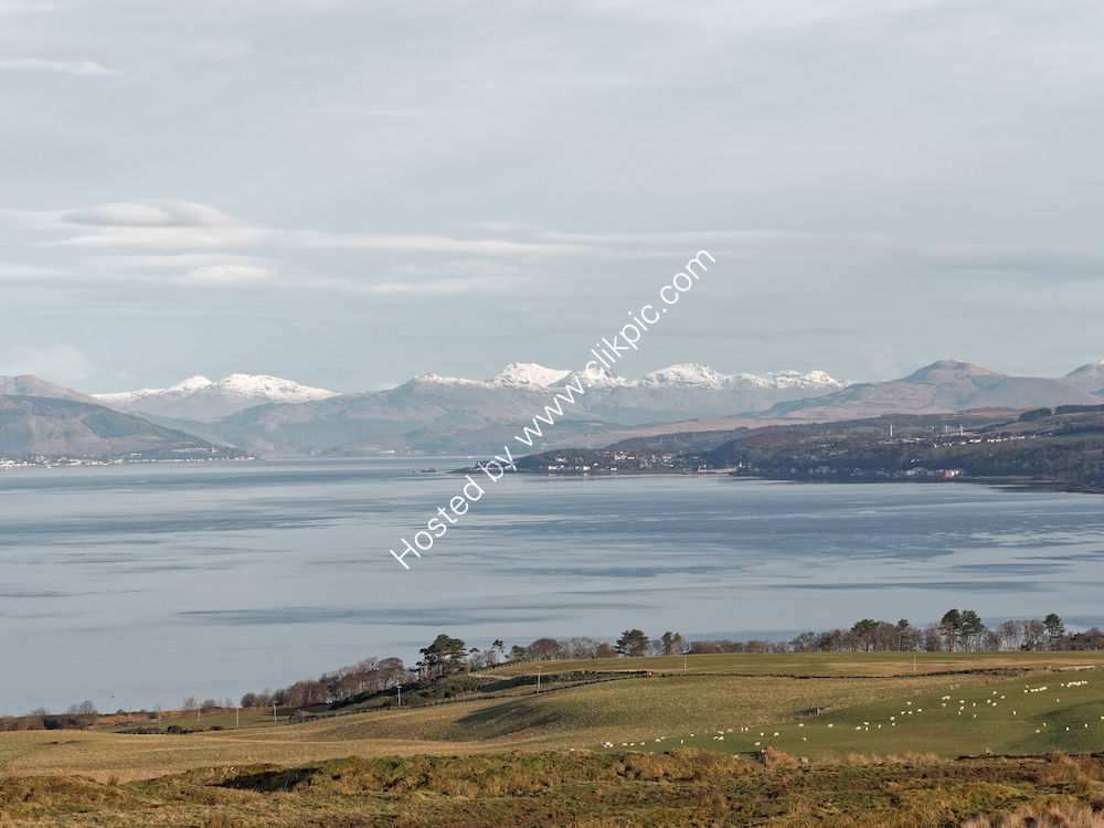 Looking North from Millport