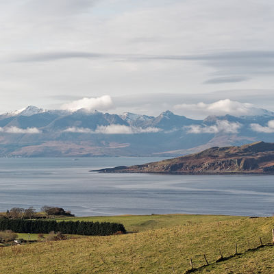 View to Arran from Millport