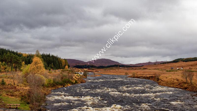 Autumn colours 1, Inveroran, Highland