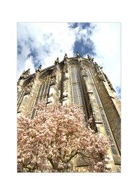Aachen Cathedral from Münsterplatz