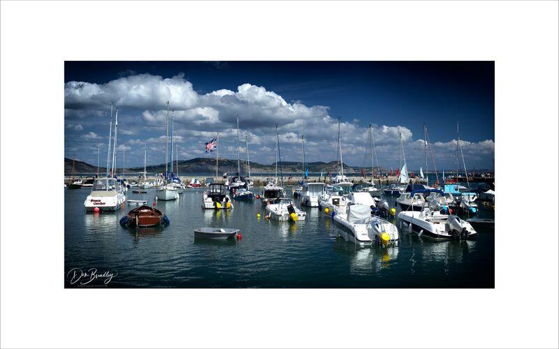 Lyme Regis Harbour and Boats, Dorset
