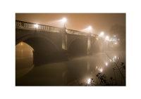 Richmond Bridge, Foggy Night