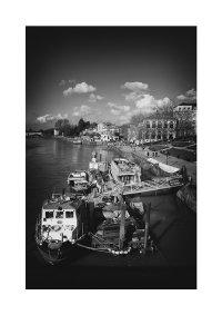 Moored Boats, Richmond Embankment.
