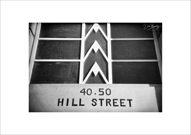 Art Deco Facade, Richmond Hill (Holga)