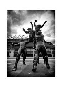 Twickenham Rugby Stadium sculpture