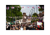 St George's Day Parade and Admiral Nelson Pub Whitton 2014.