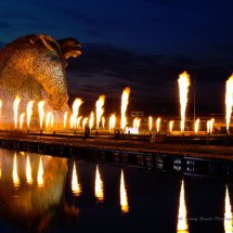 Blazing Kelpies