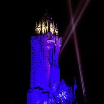 Braveheart Blue Wallace Monument