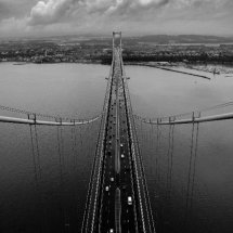Forth Road Bridge Tower View South