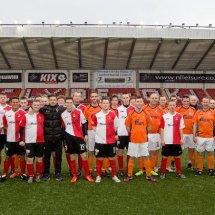 Clyde FC fans v fans game