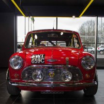 Classic Mini Red Front View