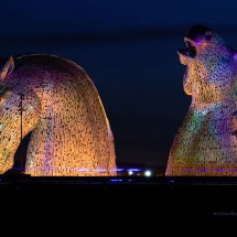 Kelpies At Night