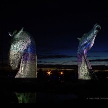 Silvered Kelpies