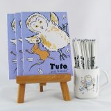 Tuto & Friends Notebook and Pencil