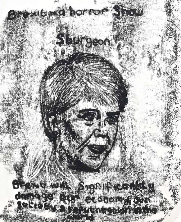 Nicola Sturgeon - by Nikkita Morgan (Ireland)