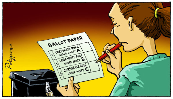 Ballot Paper - by Polyp (UK)
