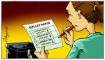 Ballot Paper - by Polyp (UK)