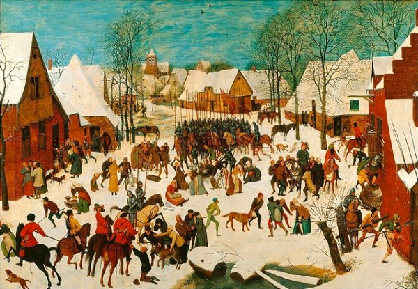 Massacre of the Innocents - by Breughel