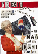 Brexit (Collage) - by Nikkita Morgan (Ireland)