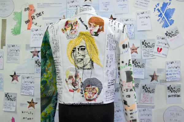 Brexit Respond Jacket (Back) - by Nikkita Morgan (Ireland)