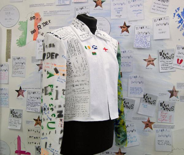 Brexit Respond Jacket (Front) - by Nikkita Morgan (Ireland)