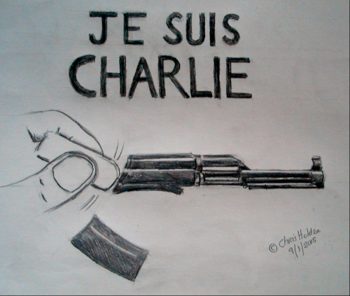 Je Suis Charlie - by Christopher Holden (UK)