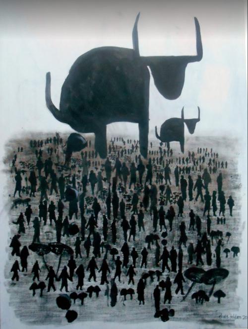 Keep Them in The Dark & Feed Them Bullshit - by Christopher Holden (UK)