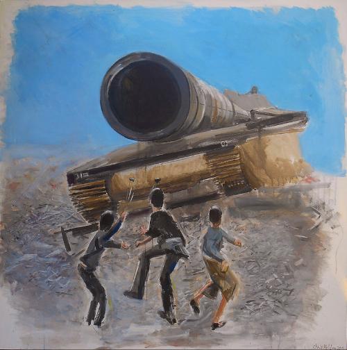 Israel/Palestine Conflict : Spirit of Resistance - by Christopher Holden (UK)