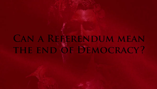 Can a referendum mean the end of democracy ? (Video) - by Theatre of Wrong Decisions (Netherlands)