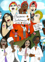 Women's Suffrage - by Dara Herman Zierlein (USA)