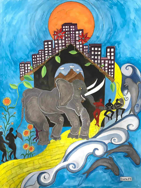 Peace and Harmony - by Dara Herman Zierlein (USA)