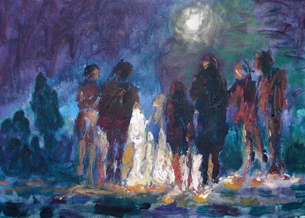 Warmth attracts, 2015 - by Gabriella Cleuren (Belgium)