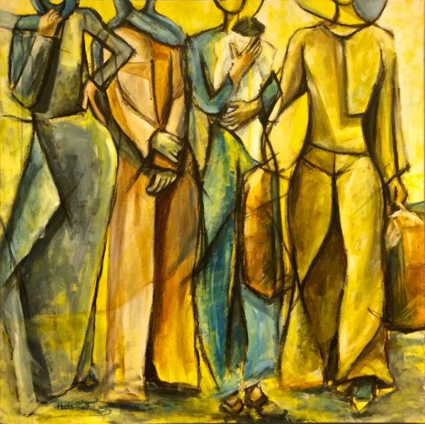 Migrating Bodies - by Huda Salha (Palestine-Canada)