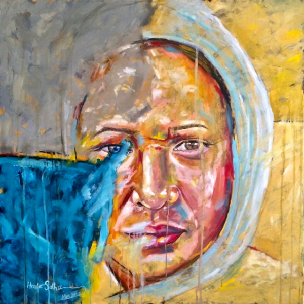 Lighting 2 - by Huda Salha (Palestine-Canada)