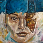 Behind the Wall - by Huda Salha (Palestine-Canada)