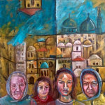 Front Line - by Huda Salha (Palestine-Canada)