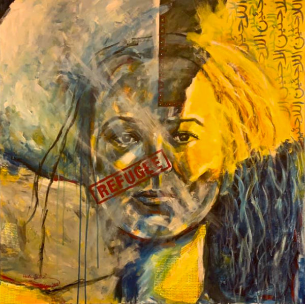 Who Am I ? Where is Home ? - by Huda Salha (Palestine-Canada)