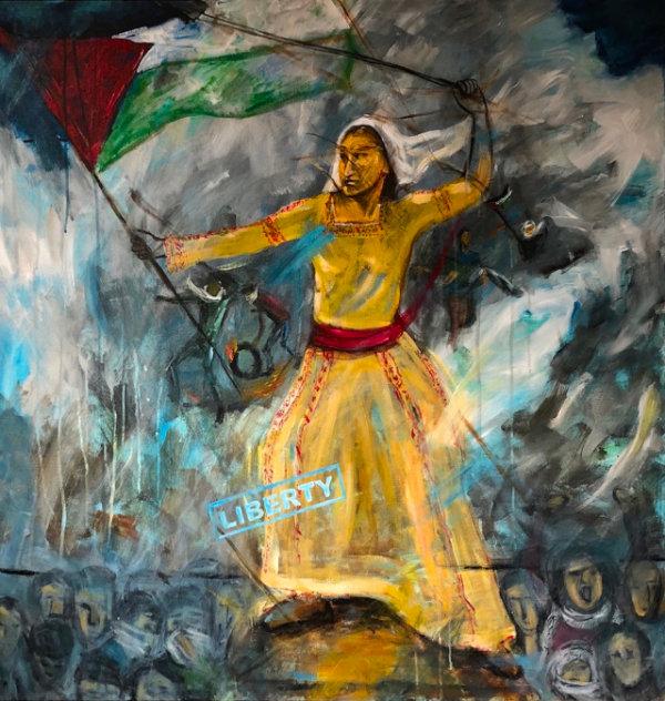 Liberty - by Huda Salha (Palestine-Canada)
